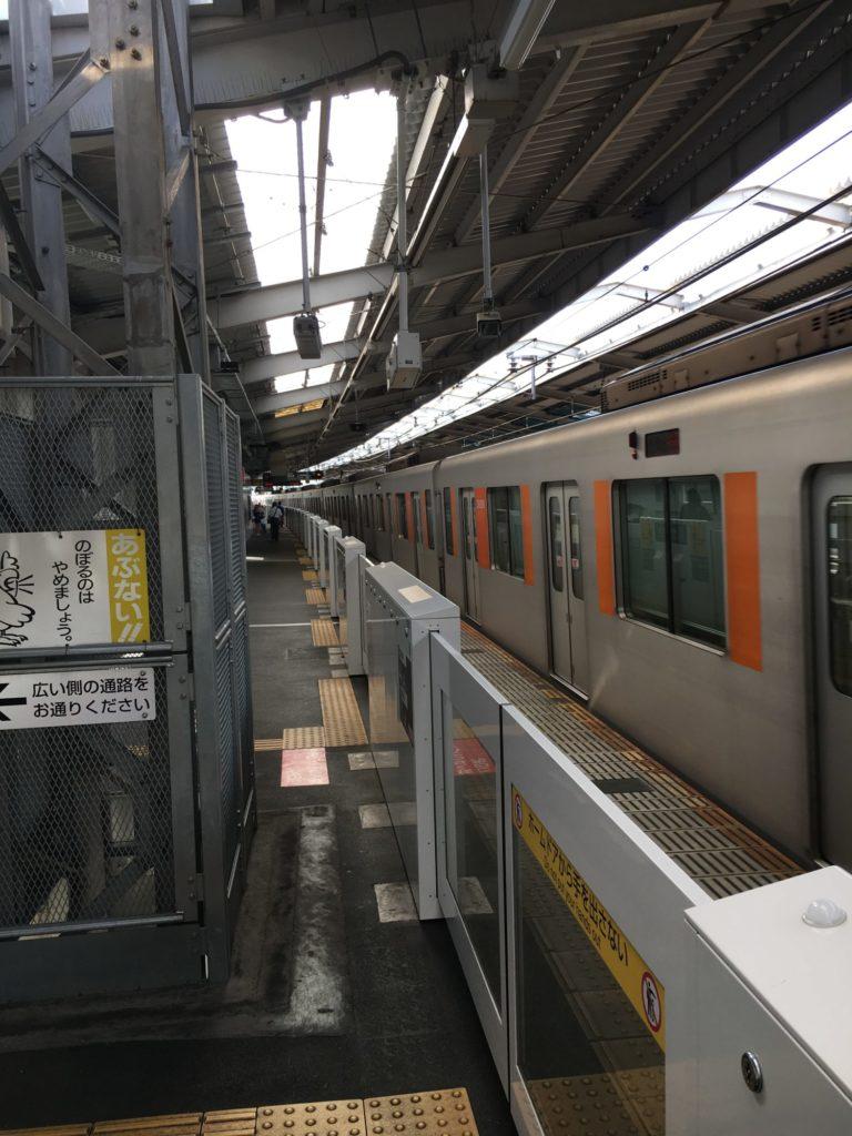 東急田園都市線宮崎台駅にて撮影