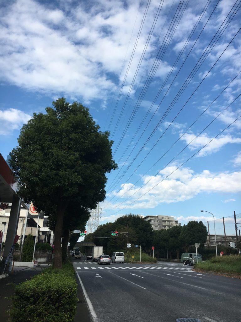 20181020朝の空