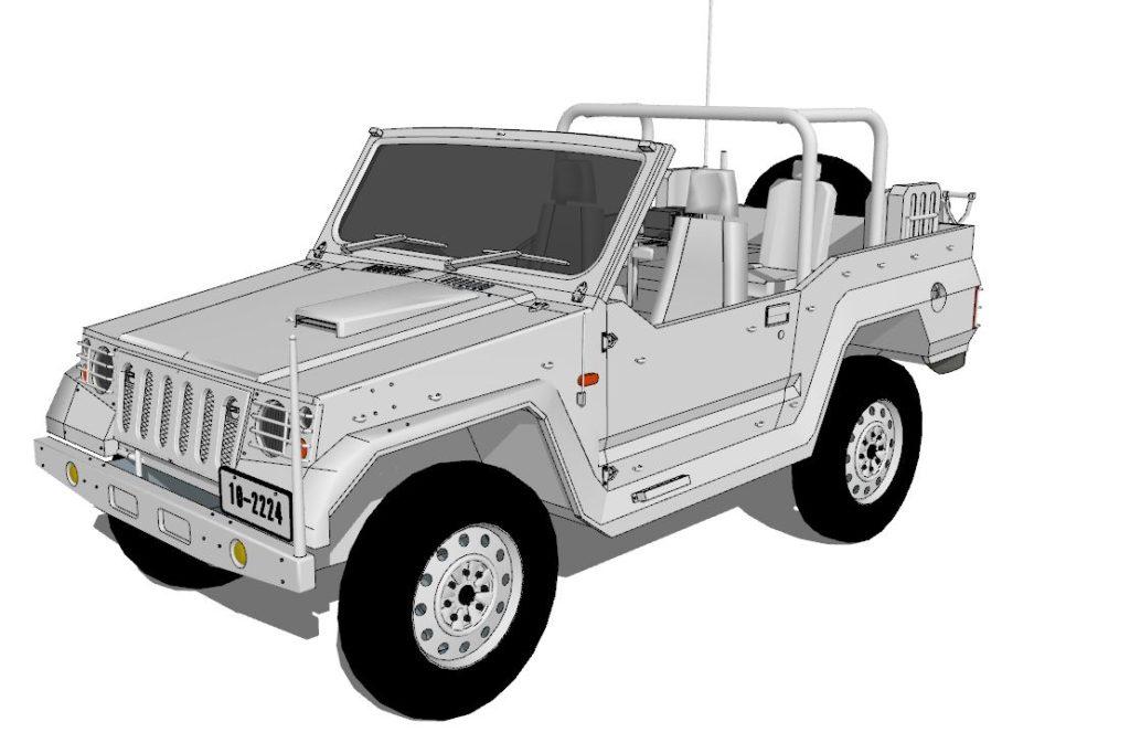 1/2 jeep