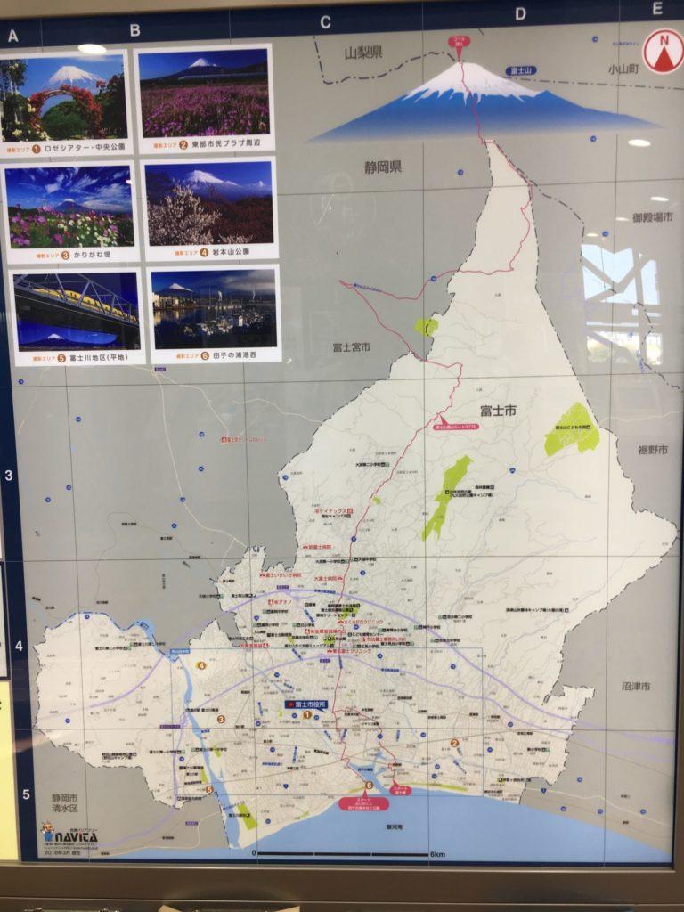富士市地図