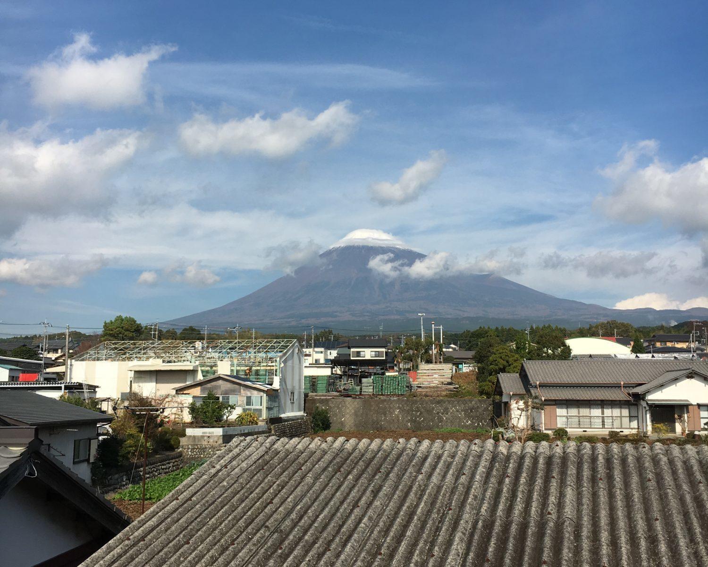 日曜の富士山