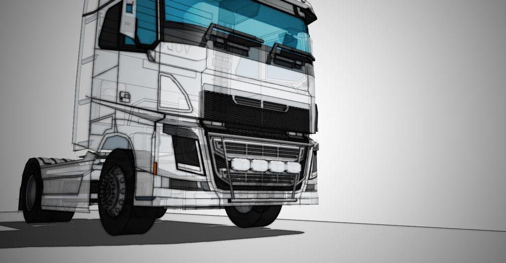 volvo truck 3