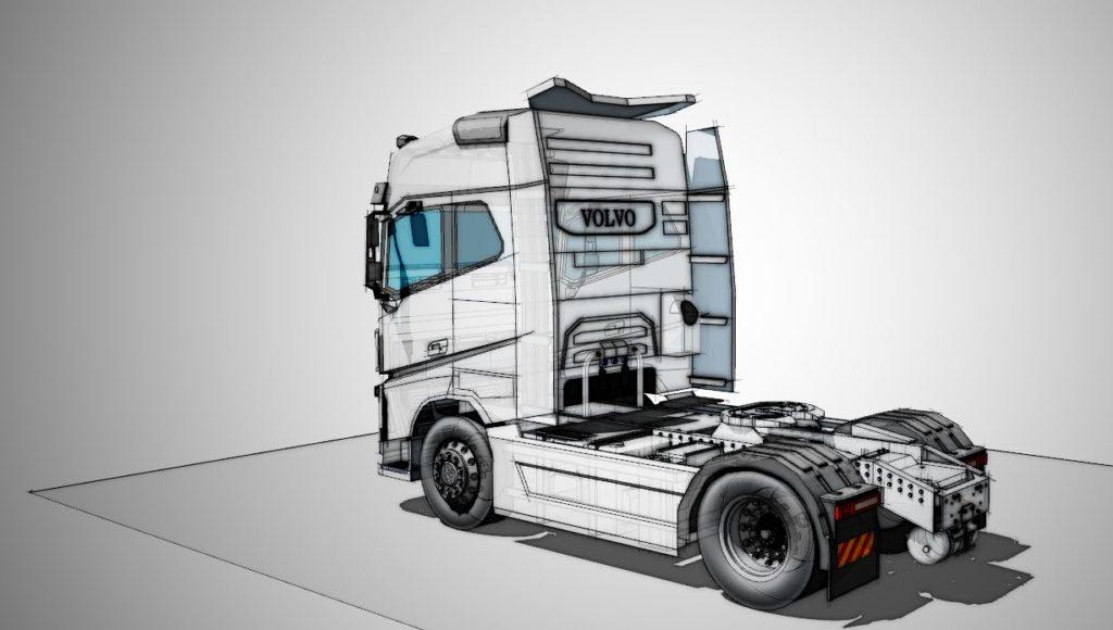 volvo truck 2