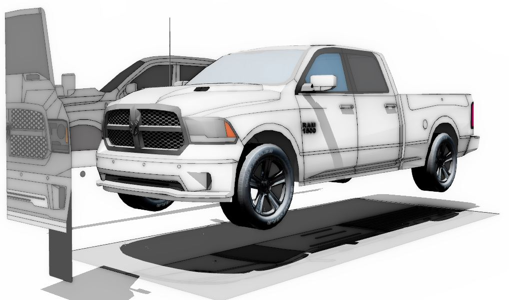 Dodge Ram 1500modeling