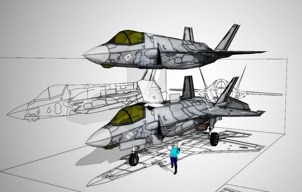 F35B Modeling完成