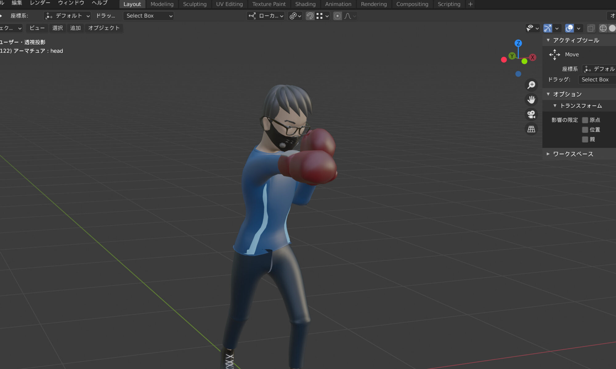 boxing modeling